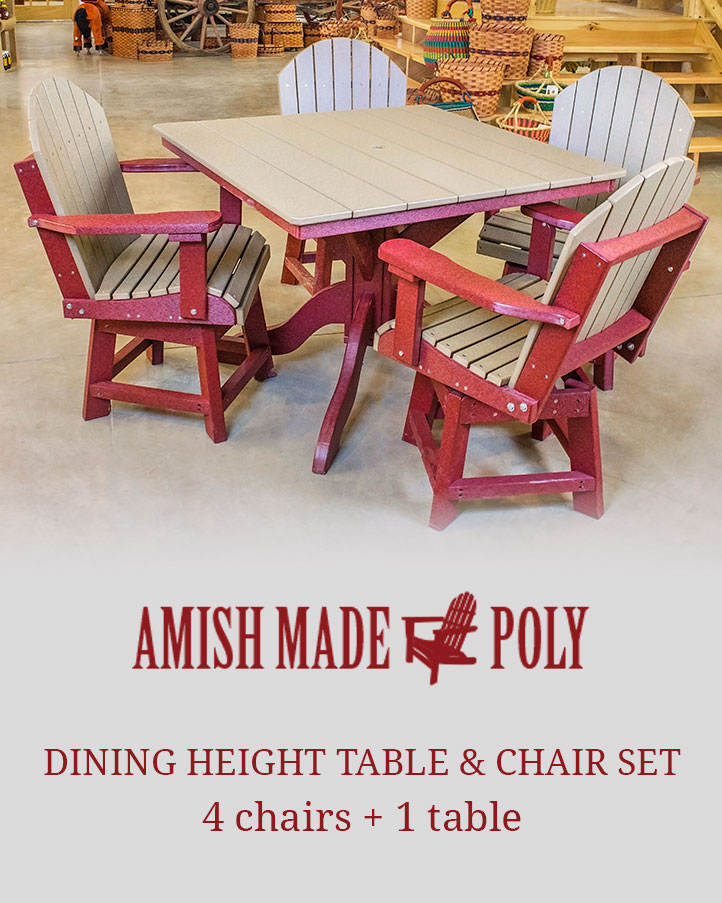 Dining Height Table U0026 Chair Set Packages